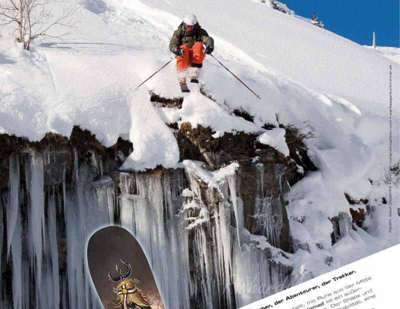 Ad for Icelantic Skis