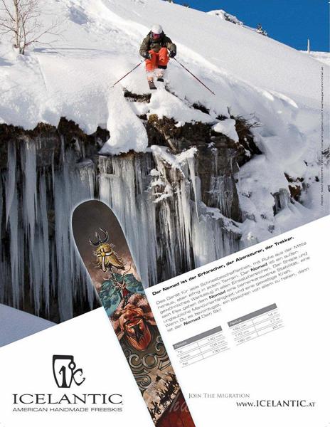 Icelantic Skis, Austria