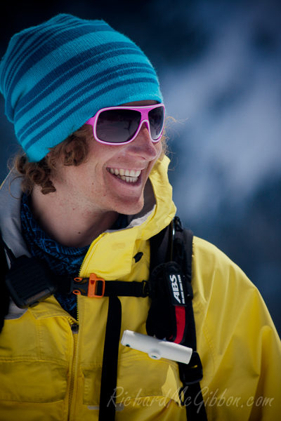 Big Mountain Skier, Mattias Haunholder