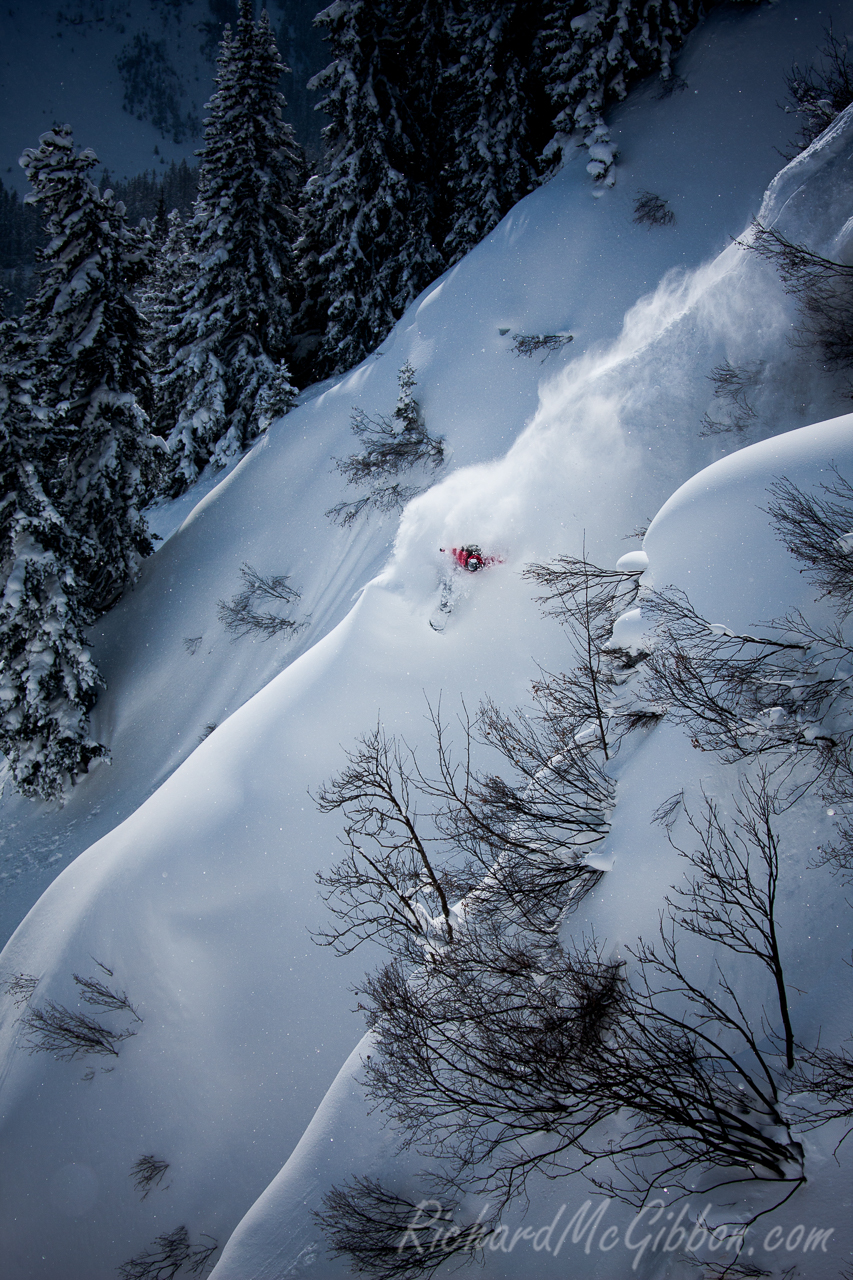 Matthieu Perez, Powder turn on the ridge, St. Anton Am Arlberg, Austria