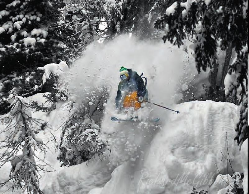 Candide Thovex, Skiing Magazine, Germany.