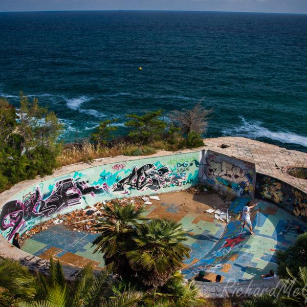 Skateboarding in Tarragona
