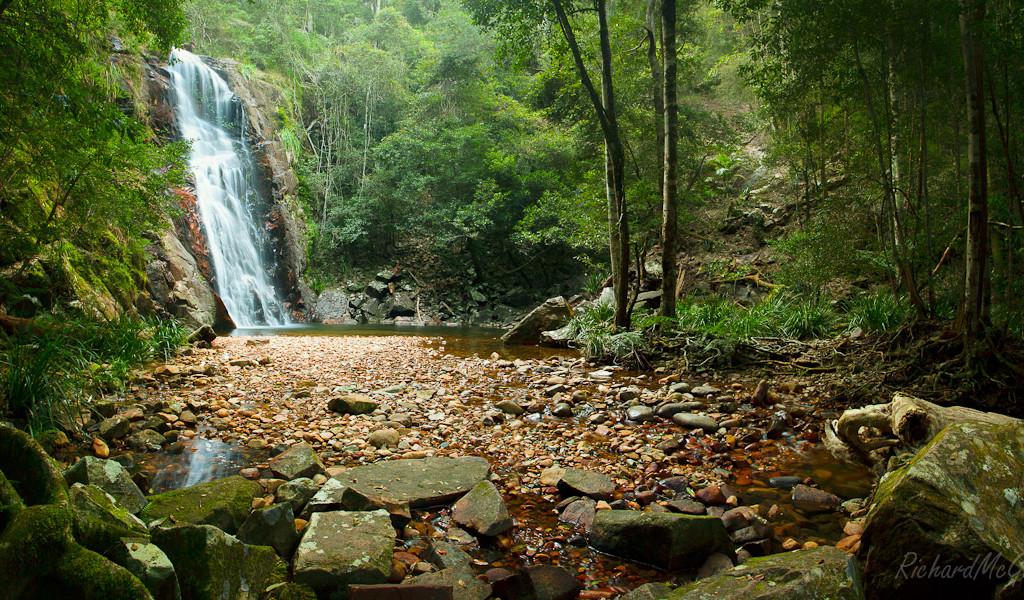 Tinebank Creek Waterfall