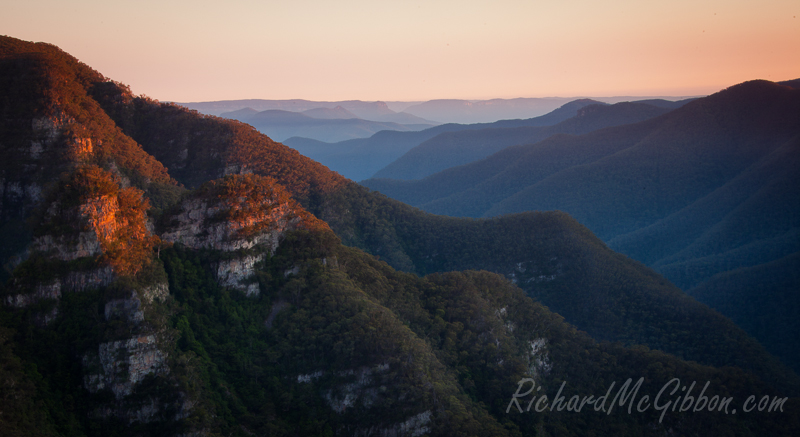 Blue Mountains and Kanangra Walls