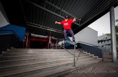 Patrik Pittl, Kickflip, Innsbruck, Austria