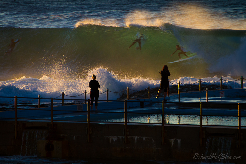 Surfing, Dee Why Point