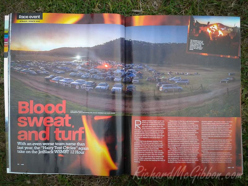 In Print: Australian Mountain Bike Magazine