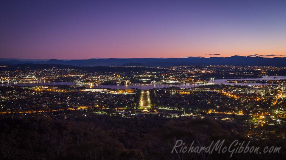Side trip to Canberra