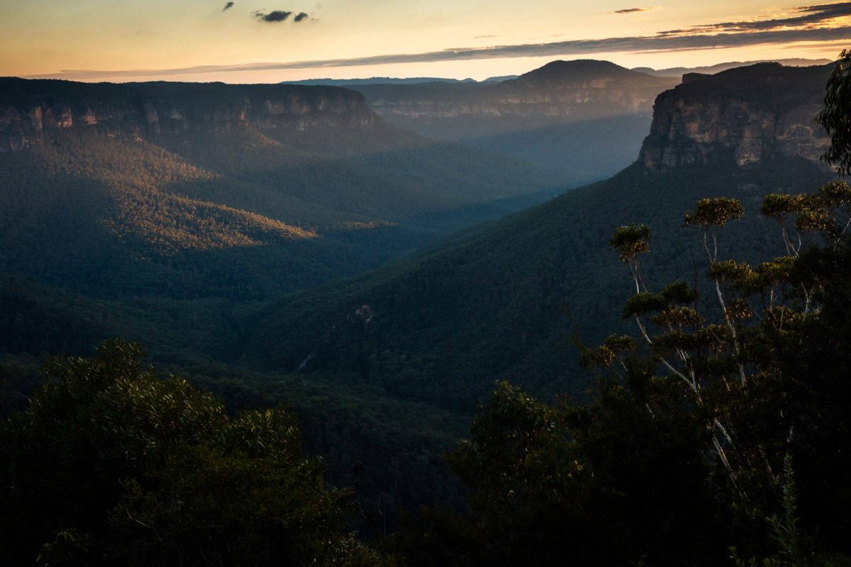 Blue Mountains Sunrise