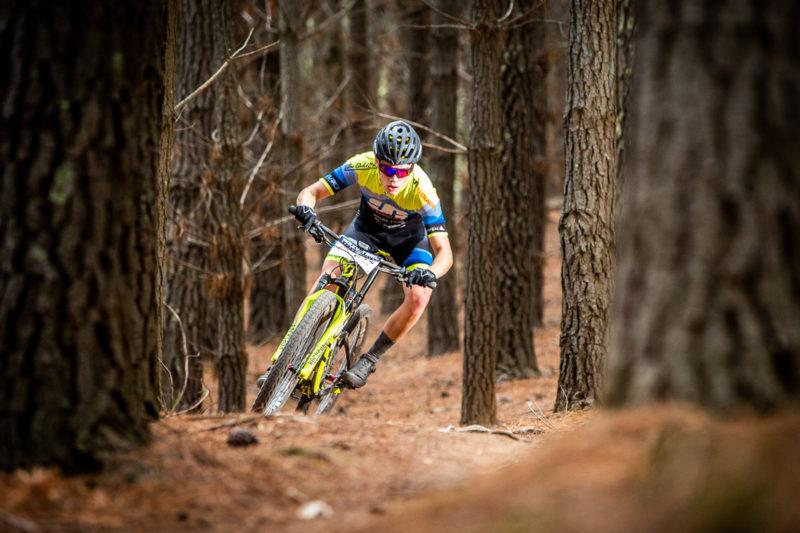 mountain biking in Kinross State Forest