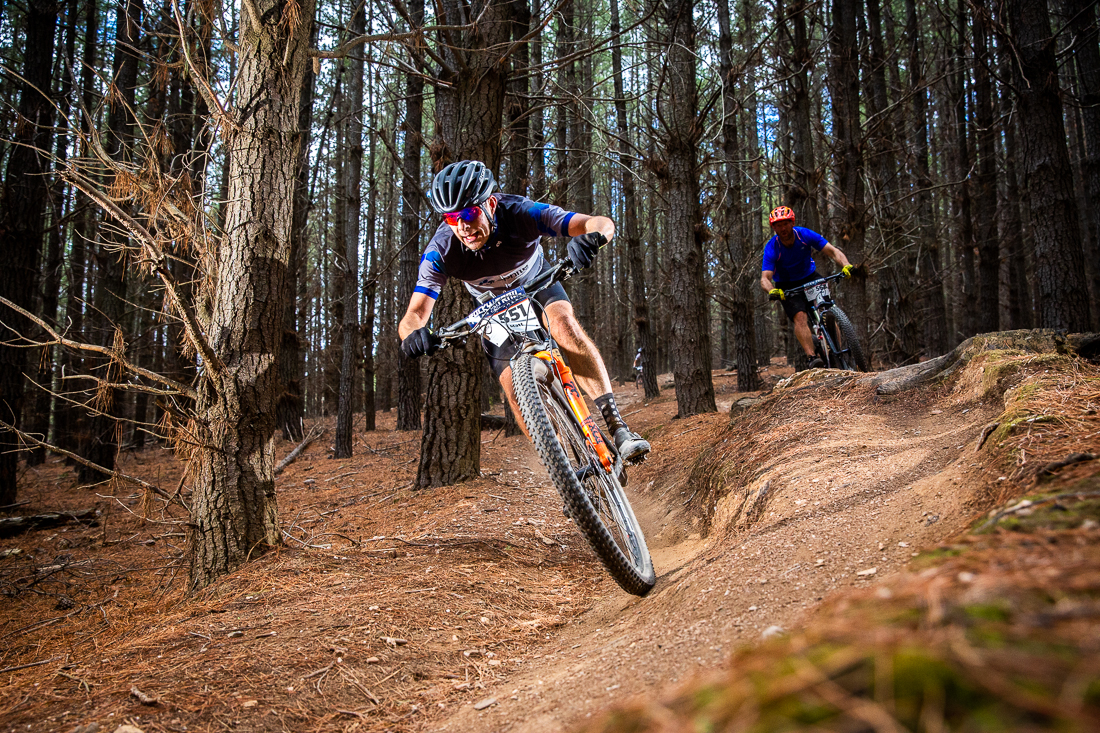 mountain biking in Kinross State Forest